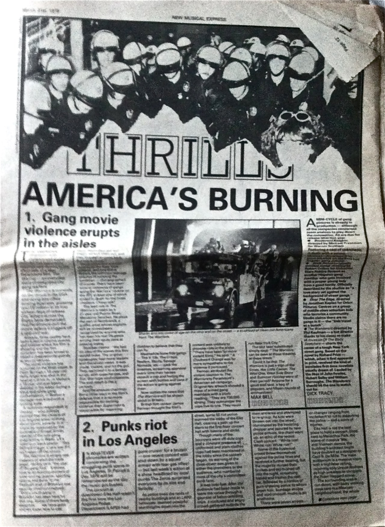 How the NME captured The Warriors