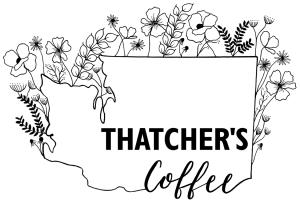 Thatcher's Coffee Logo