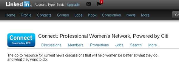 LinkedIn ProfWomen