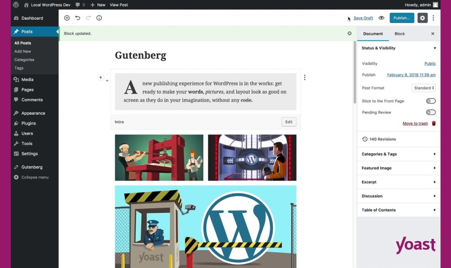 WordPress: What is Gutenberg?