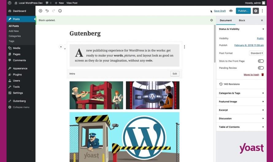 WordPress: What is Gutenberg?