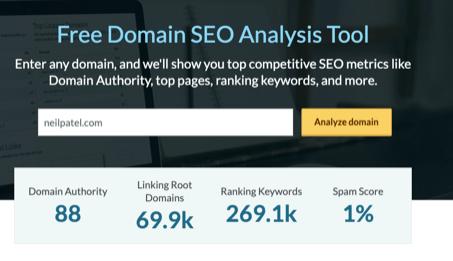 Domain Authority Checker Moz Domain SEO Analysis