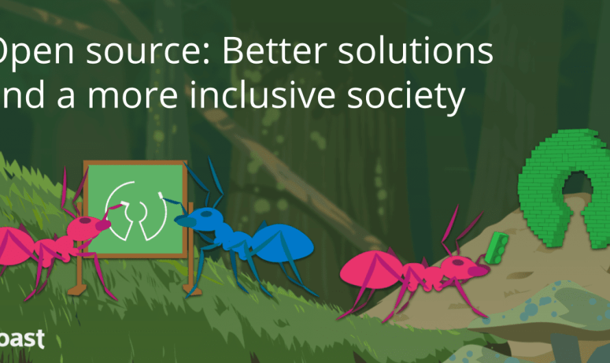 Open source: Better solutions and a more inclusive society