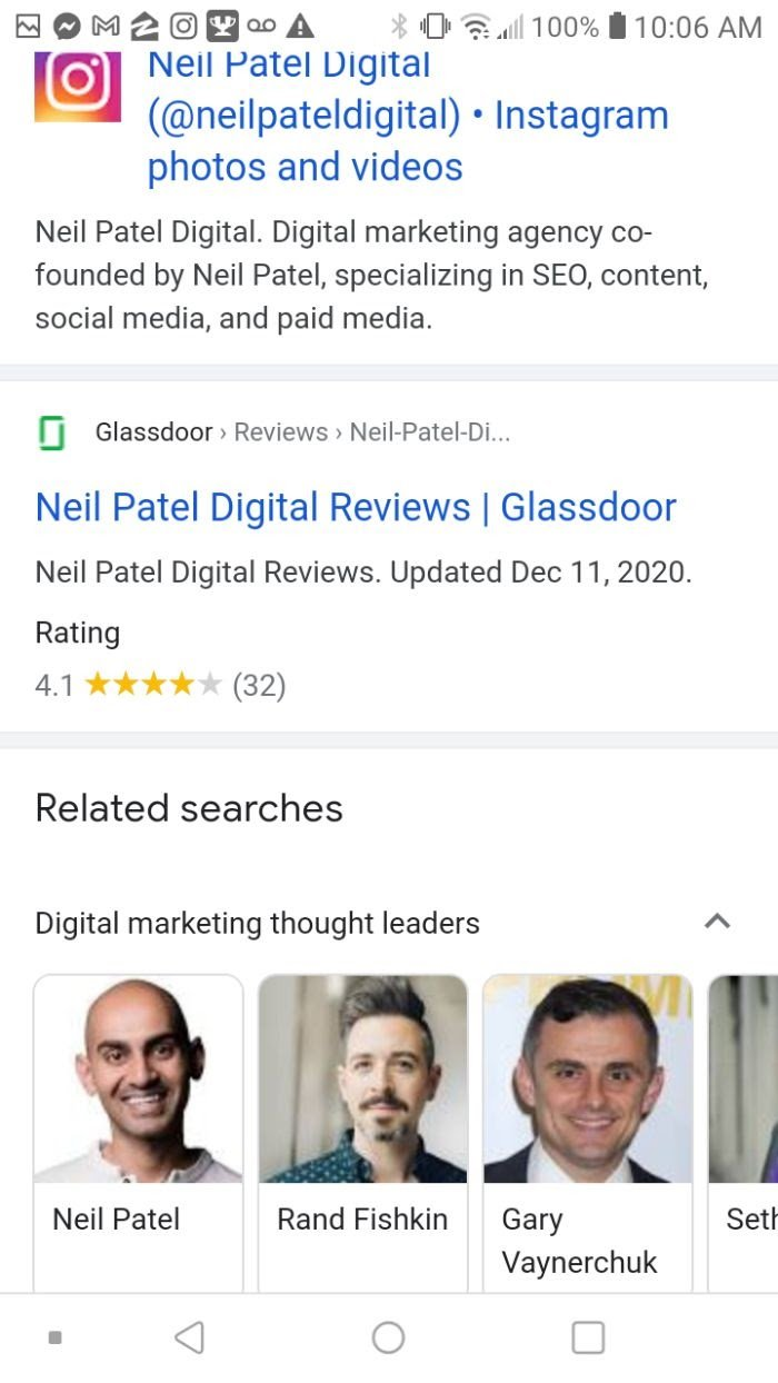 remove information from Google neil patel