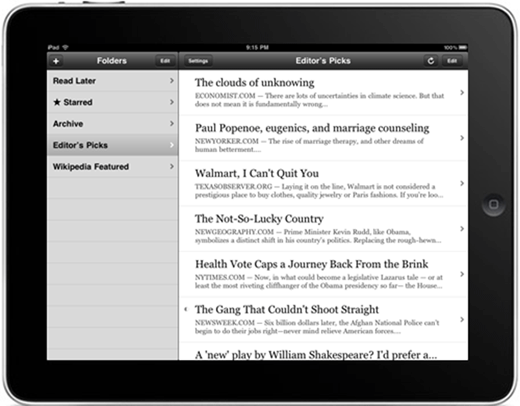 instapaper marketing tool for organization