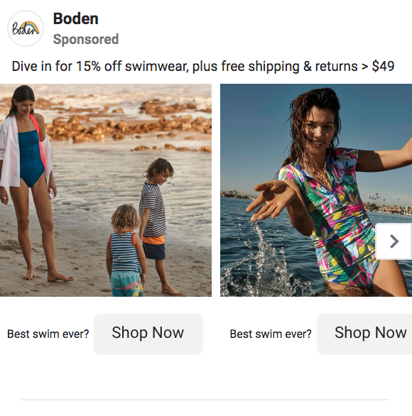 Examples of Great Fashion Marketing - Boden