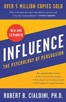 best marketing books - influence