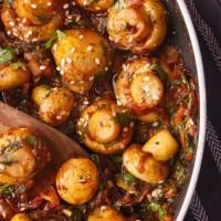 Chilli Garlic Mushroom