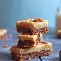 Dates And Coconut Energy Bars | No Bake, Sugar-free and Vegan