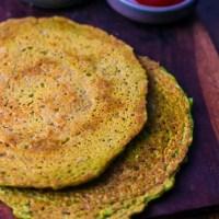 Matar Cheela | Savoury Peas Pancakes