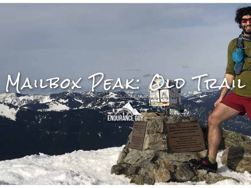 Mailbox Peak's Old Trail is the Stuff of Legend