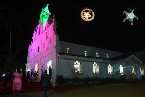 Christmas at Lady Carmel church Arambol Goa2
