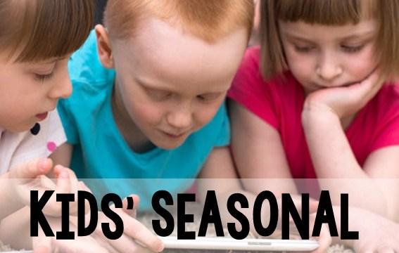 Kids' seasonal literacy playlists That Fun Reading Teacher.com!