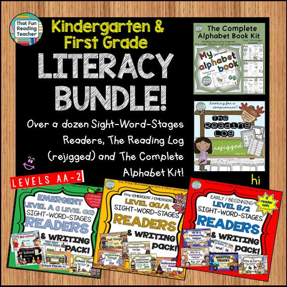 first-grade-kindergarten-literacy-bundle
