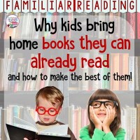 Familiar Reading – Why your kids bring home books they can already read (and how to make the best of them!)