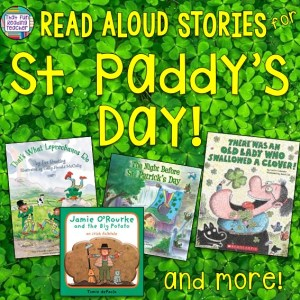 Read-aloud stories for St Paddy's day - free! | That Fun Reading Teacher.com