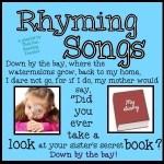 Rhyming Songs