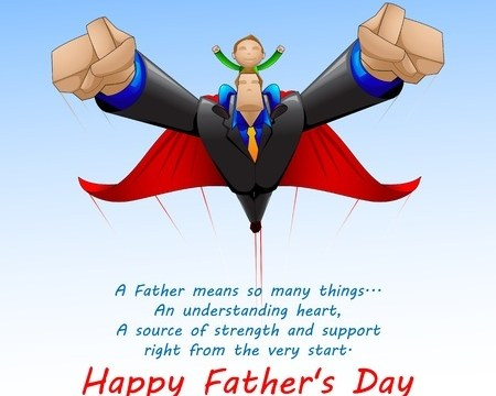 Happy Father's Day – and what a father means