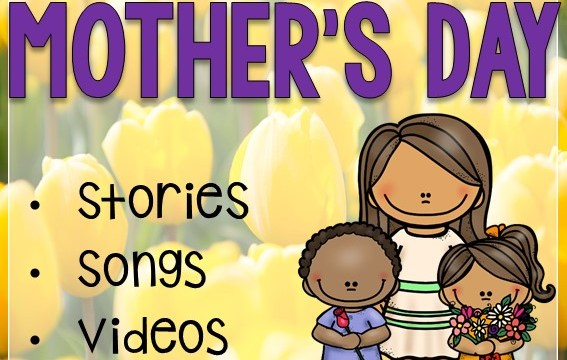 Online Mother's Day fun and learning for Kids!