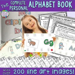 The Complete Personal Alphabet Book Kit