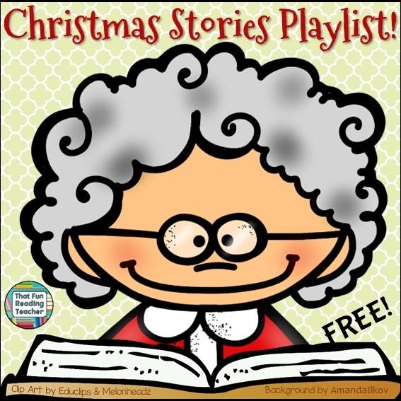 christmas-stories-playlist-free-on-thatfunreadingteacher-com