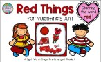 Guided Reading PreEmergent Sight-Word Reader - Valentine Things $   That Fun Reading Teacher