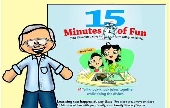 A Family Literacy Day message from Robert Munsch