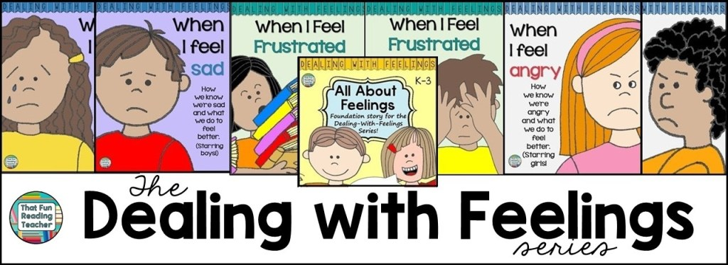 Feelings storybook lessons - Dealing With Feelings Series by That Fun Reading Teacher