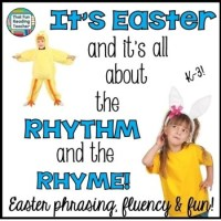 5 ways to shake things up with fun Easter-themed rhythm and rhyme!