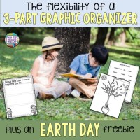 Earth Day is coming: A Writing Freebie, and the flexibility of 3-part Graphic Organizers