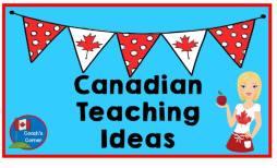 Canadian Teaching ideas