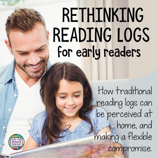 Rethinking reading logs for early readers