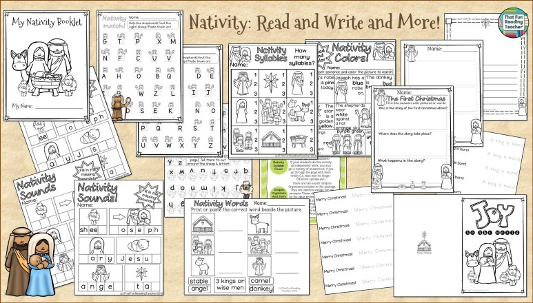 Nativity Read and Write and More