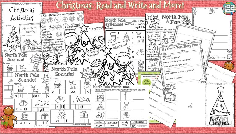 Christmas Read and Write and More!