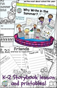 Writing For Real Purposes - Fun Summer Lists!
