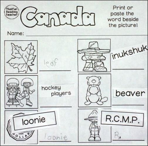 3 Canada Print or Paste