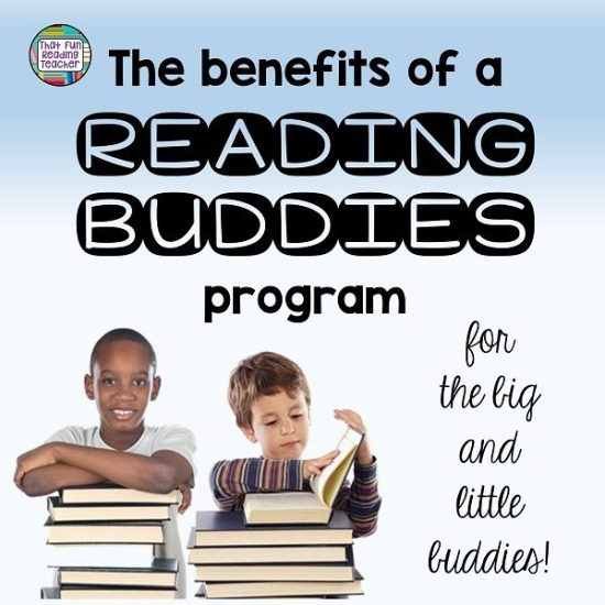 The benefits of a reading buddies program for the big and little buddies! | That Fun Reading Teacher