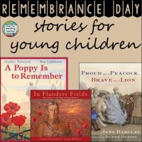 Remembrance Day and Veterans Day Stories for young children