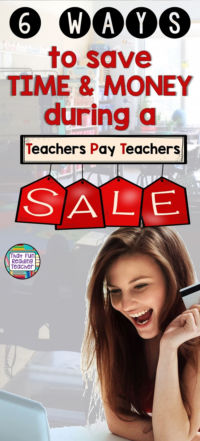 If you are a teacher, like I am, you may schedule your resource shopping around Teachers Pay Teachers TpT Site Wide sales. If you are a teacher, like I am, you may schedule your resource shopping around Teachers Pay Teachers TpT Site Wide sales. Here are a few things (at least six) I have learned about being strategic during a sale! #TpT #TpTsale #TpTsaletips