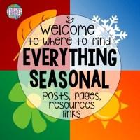 Seasonal teaching links!