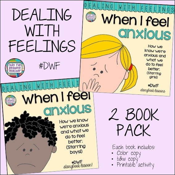 Feelings stories for children - When I feel anxious