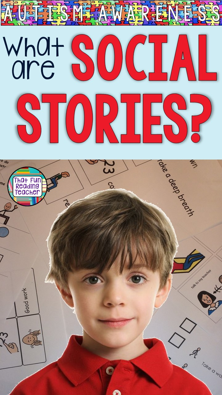 What are Social Stories? Click here to find out what they are, how they help students with autism and a brief video explaining what makes them so effective! #socialstories #autism #autismawareness #specialeducation