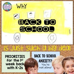 Why back to school is such a big deal – manage anxiety by setting priorities (and a giveaway!)