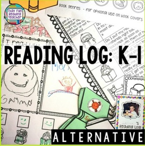 This is the fun, alternative reading log I use with my K-1 students, encouraging pride and age-appropriate responsibility! $