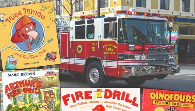 Great books to help prepare kids for fire drills #firedrills #school #elementary #stories #kidlit