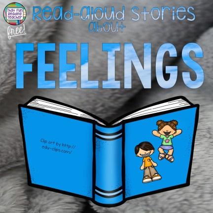 Read-aloud stories about feelings / emotions