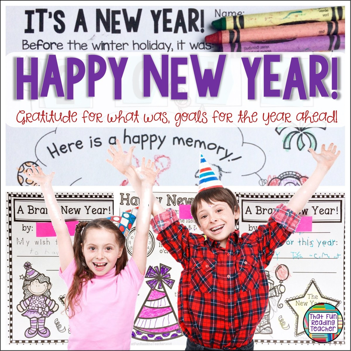 Happy New Year: Gratitude for what was, goals for the year ahead!