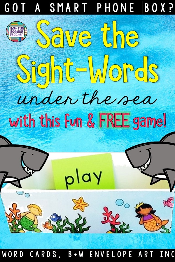 Fun, fast-paced sight word game that will have your students hooked! Easy to differentiate and home element included! #teacherspayteachers #tpt #sightwords #kindergarten #education