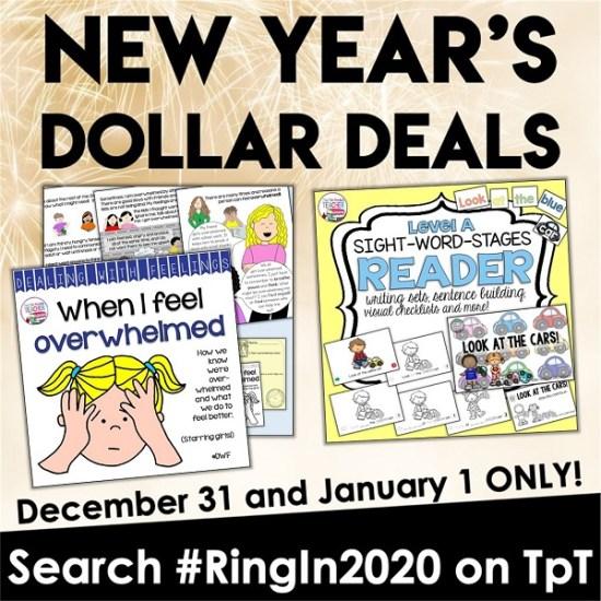 New Year's Dollar Deals #RingIn2020