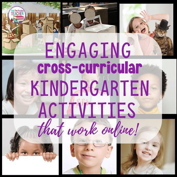 Looking for ideas for fun, cross-curricular kindergarten activities that work online? Here are a few things we did with our class that our students and parents really enjoyed, and taught us a lot about our students and their learning.
